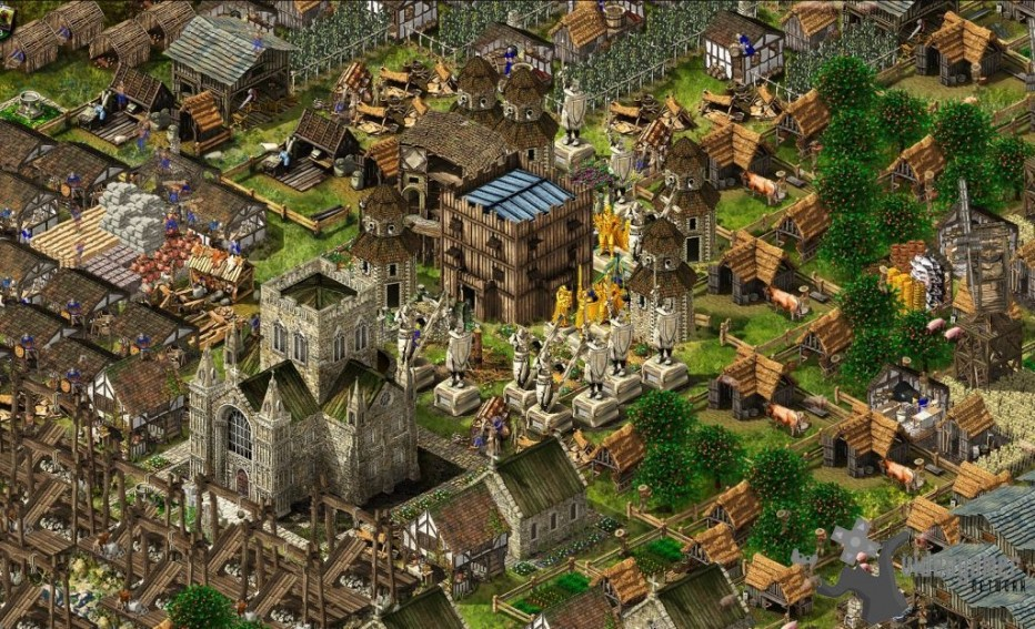 Stronghold kingdoms, Massive Online Played Game