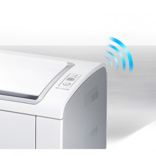 Smasung ML-2165W, its easy to get print wirelessy with affordable mobile printer