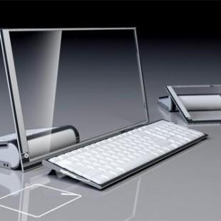 HP LiM Glass computer,  Future Design of Desktop Computing