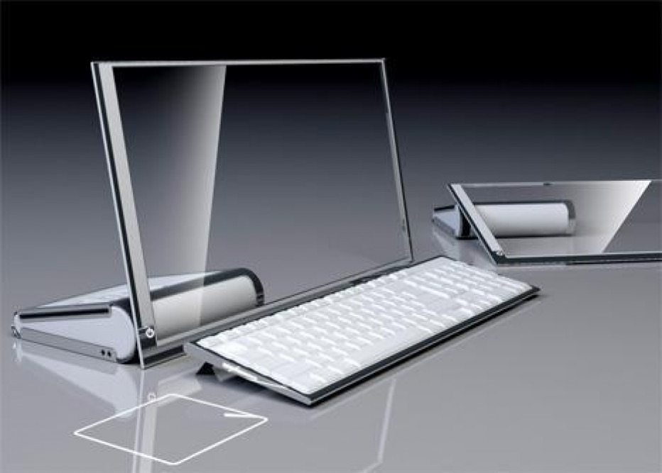 HP LiM Glass computer,  Future Design of Desktop Computing