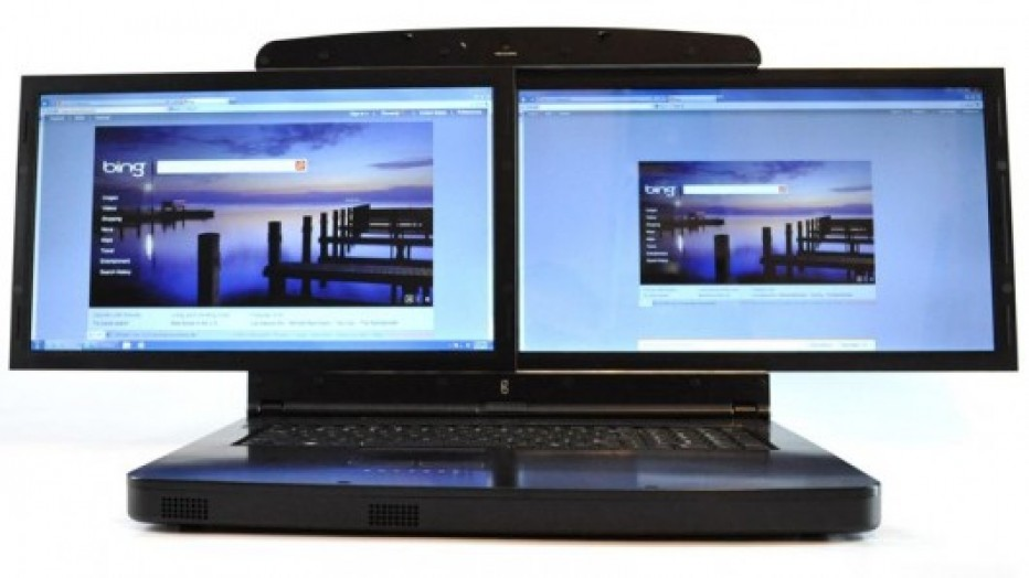 Spacebook by gScreen, New tech Dual screen Laptop