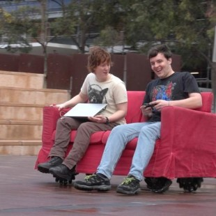 Don't travel on a traditional Vehicle when you have Robotic Couch