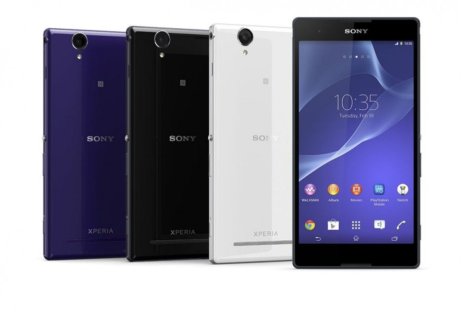 Sony Xperia T2 Ultra features in detail