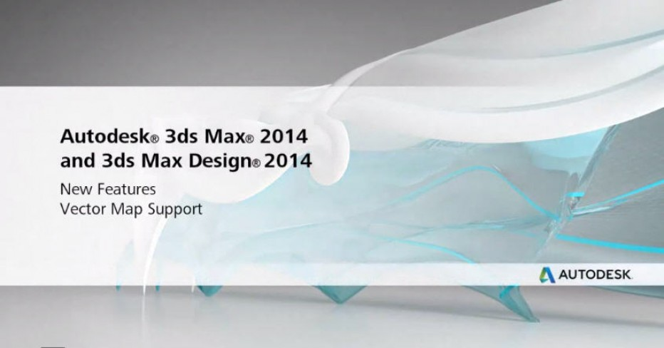 Autodesk 3D StudioMax 2014 with Vector Support