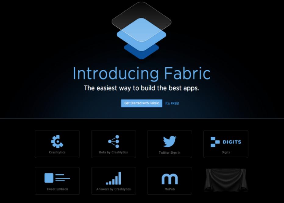 Twitter development kit , Twitter Fabric