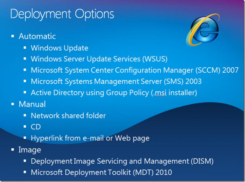 Windows Installation, imageX Deployment from Network