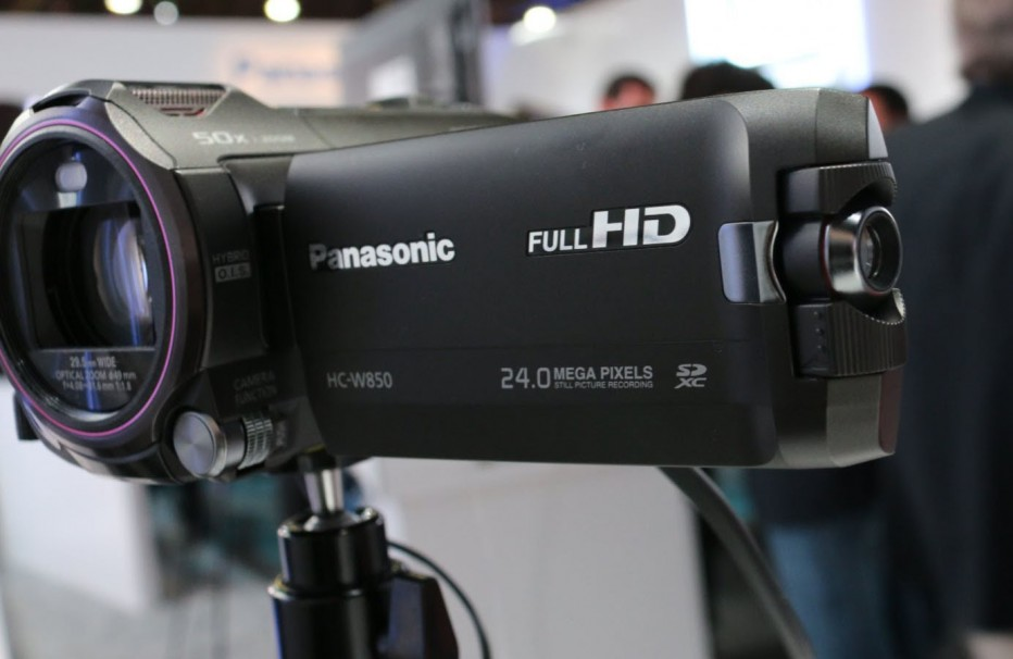 Panasonic HC W850K, High definition Camcorders Twin Camera