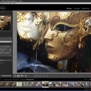 Adob Lightroom 5.7, featuring with DSLR camera Integration