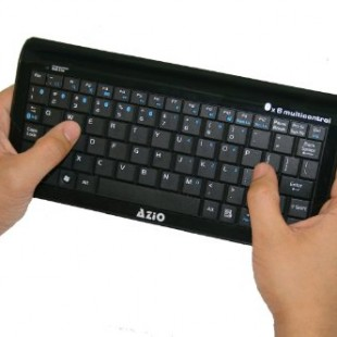 AZiO backlit keyboard KB335 ,  turn to Tablet into laptop