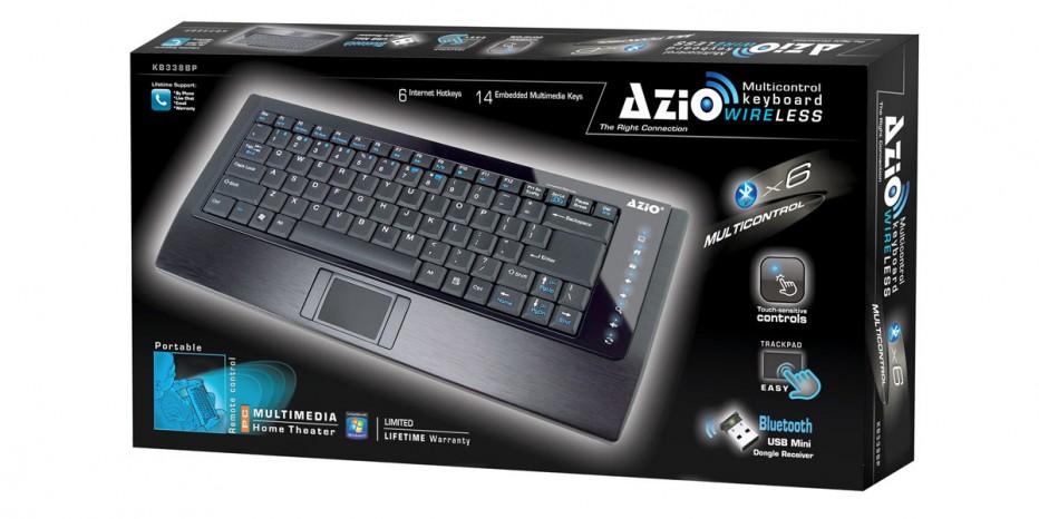 Azio slim wirless keyboard
