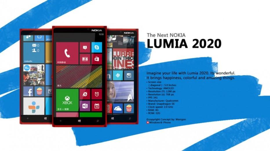 Nokia Lumia 2020