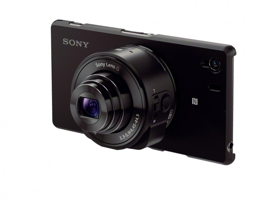 DSC QX10, point and shot external chassis