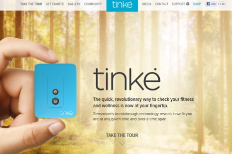 Tinke,  personal Health Monitoring and Fitness measuring  Device