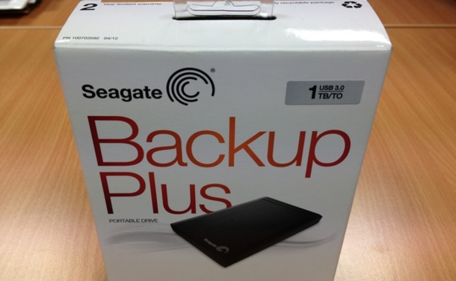 Seagate Backup Plus Desktop external hard drive