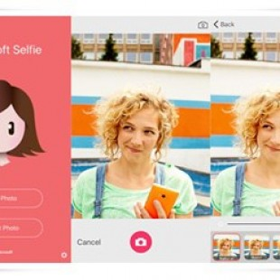 Microsoft Selfie app for iOS
